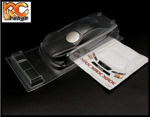 RC ORANGE XRX XR RCON928 Mini Z WB Touring Racing 98MM a peindre1