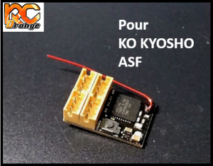 RC ORANGE XRX XR RXKF2 RECEPTEUR Compatible Kopropo et Kyosho ASF 2.4ghz mini format 1