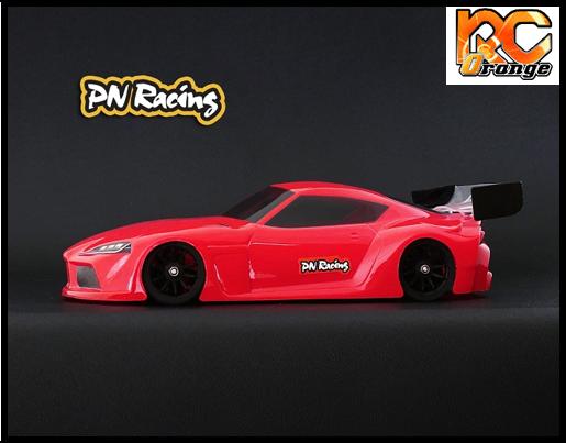 RC ORANGE PN RACING – 600813L Mini Z Supra 1 28 Lexan Body Kit Version light 1