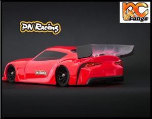RC ORANGE PN RACING – 600813L Mini Z Supra 1 28 Lexan Body Kit Version light 2
