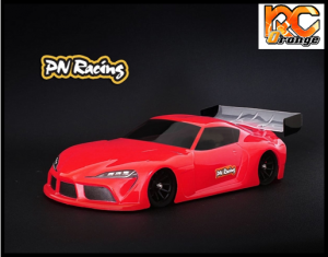RC ORANGE PN RACING – 600813L Mini Z Supra 1 28 Lexan Body Kit Version light