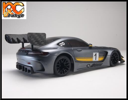 PN Racing Mini Z Carbon Fiber Rear Wing Kit 600630 mini z 1