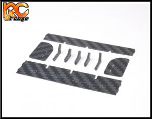 PN Racing Mini Z Carbon Fiber Rear Wing Kit 600630 mini z