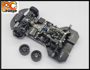 GL RACING GL TS002 GLR GT GLR GLF1 Banc de reglage du Tweak en aluminium noir 1