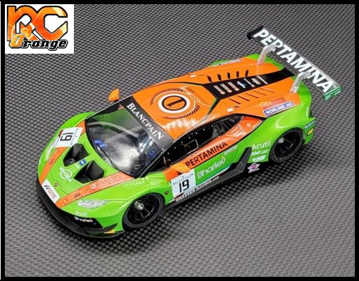 RC ORANGE GL RACING – GL LBO GT3 001 mini z Lamborghini GT3 Body 001 Limited Edition