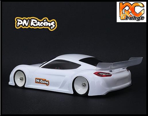 RC ORANGE PN RACING – 600814L Mini Z GT4LB 1 28 Lexan Body Kit Version light 1