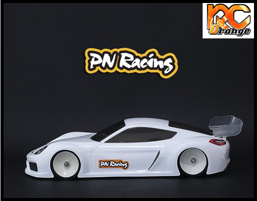 RC ORANGE PN RACING – 600814L Mini Z GT4LB 1 28 Lexan Body Kit Version light 2