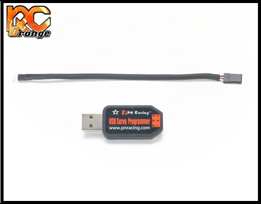 PN RACING 500804U Programmateur USB pour circuit de servo V4