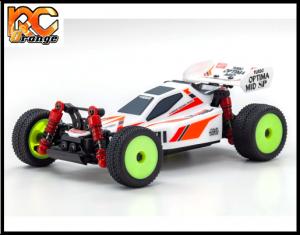 RC ORANGE KYOSHO – 32092W Mini Z Autoscale BUGGY 4WD TURBO OPTIMA 1