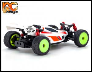RC ORANGE KYOSHO – 32092W Mini Z Autoscale BUGGY 4WD TURBO OPTIMA 2