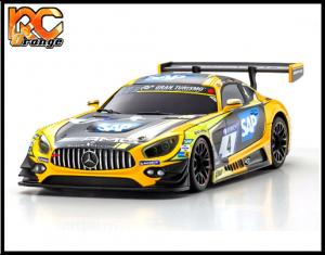 RC ORANGE KYOSHO – MZP241YBK Mini Z Autoscale W.MM .98 Mercedes Benz AMG GT3 Yellow