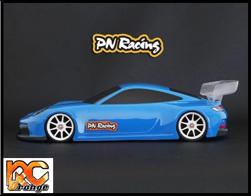 RC ORANGE PN RACING – 600815 Mini Z 992GT3 1 28 Lexan Body Kit 2