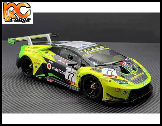 RC ORANGE GL RACING – GL LBO GT3 003 mini z Lamborghini GT3 Body 003 Limited Edition 1